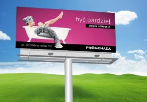 Wizualizacja billboardu 6x3