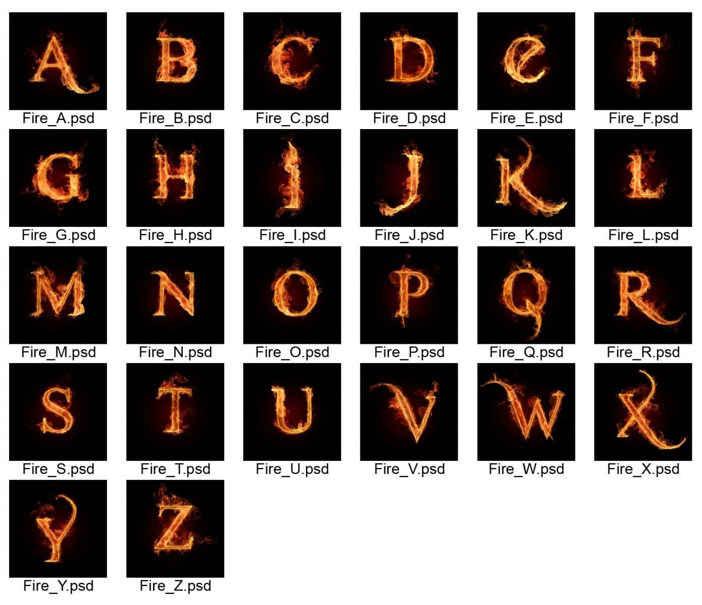 fire_letters